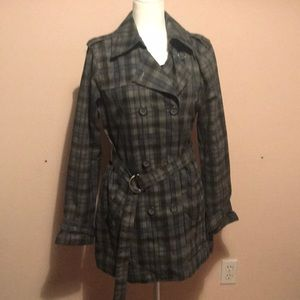 Hurley Trench Coat size Large